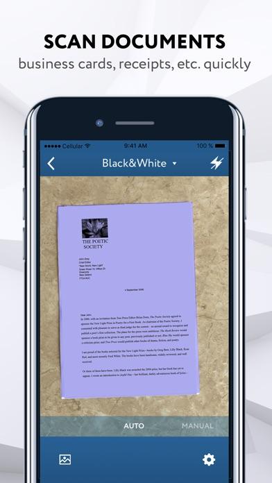 docScanner-PDF Doc Scanner App screenshot #1