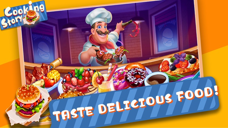 Cooking Story - Food Games