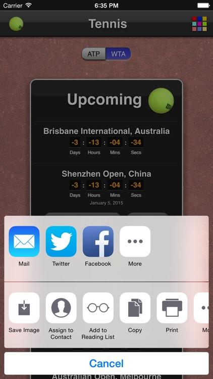 Tennis Matches screenshot-4