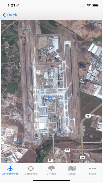 Aerodromos ChileCaptura de pantalla de5