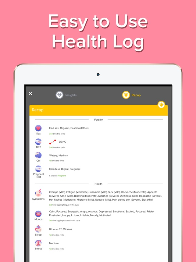 Glow Cycle & Fertility Tracker on the App Store