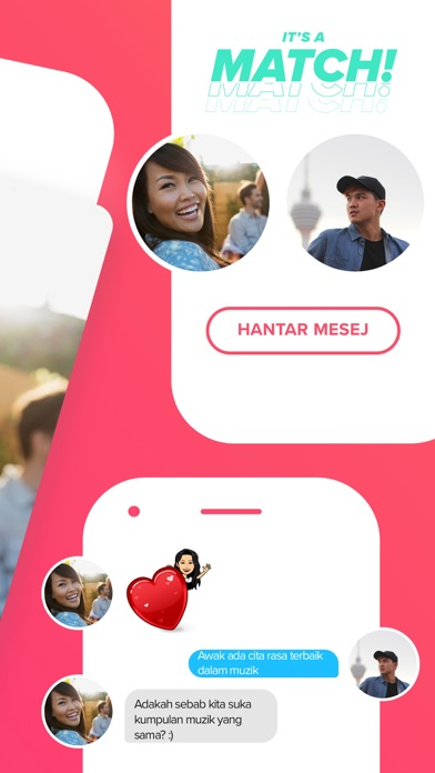 Screenshot for Tinder in Malaysia App Store