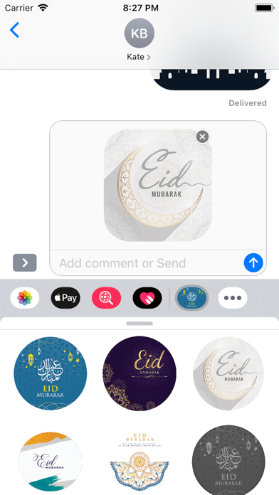Eid Sticker 2019 screenshot #5