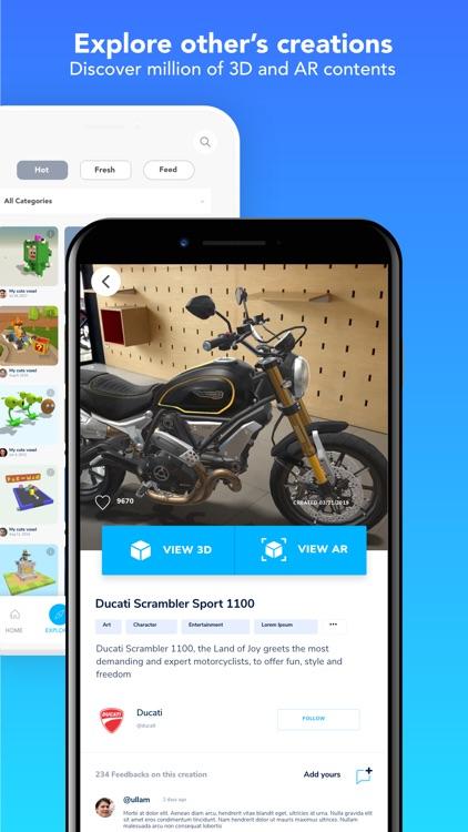 Assemblr - Interactive design screenshot-3