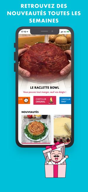 Chefclub Tous En Cuisine Dans L App Store