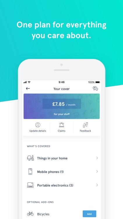 Wrisk – Contents insurance screenshot-4