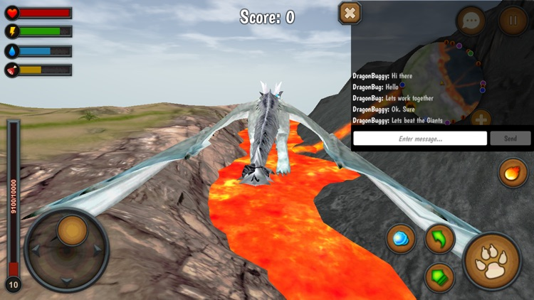 Dragon Multiplayer 3D screenshot-3