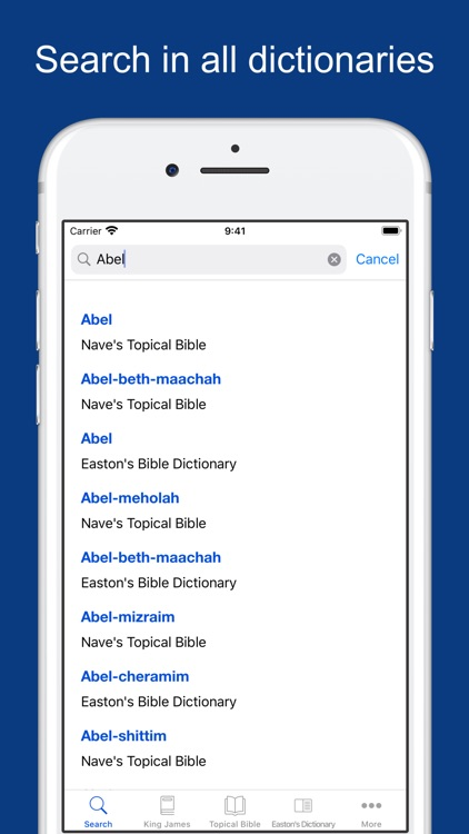 Bible Dictionaries and Books screenshot-0