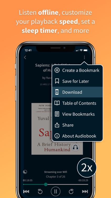Scribd - audiobooks & ebooks screenshot-3