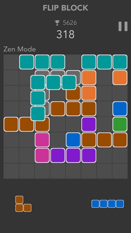 Flip Block: jewel legend blast screenshot-3