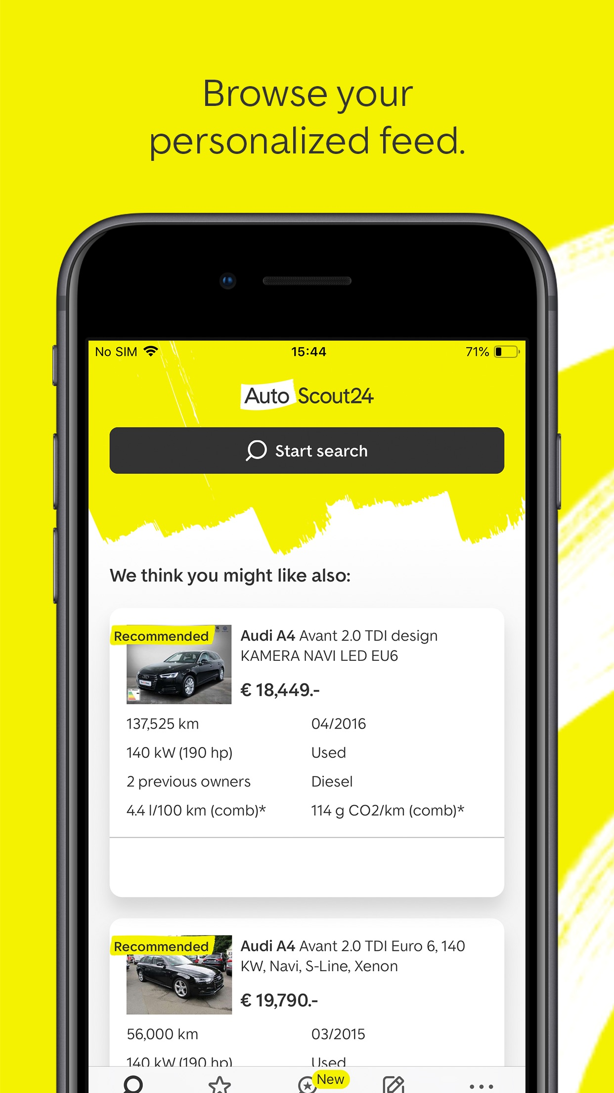 AutoScout24: Buy & Sell Cars Screenshot