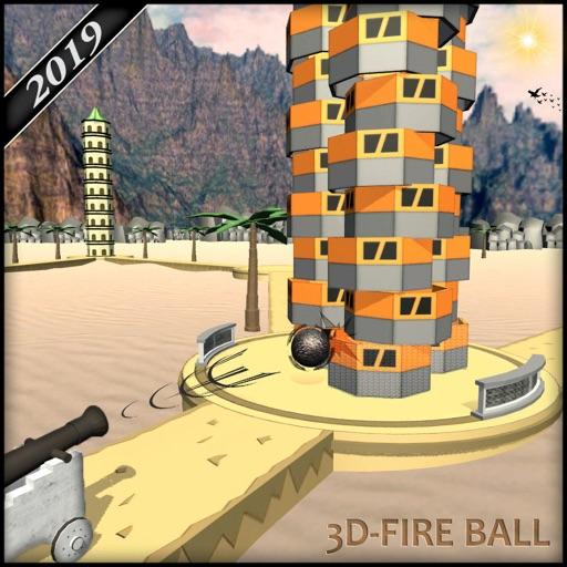 Fire Balls 3D-Shooting