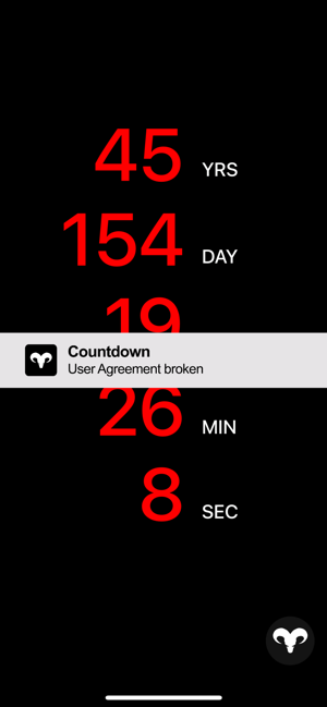 Countdown App On The App Store