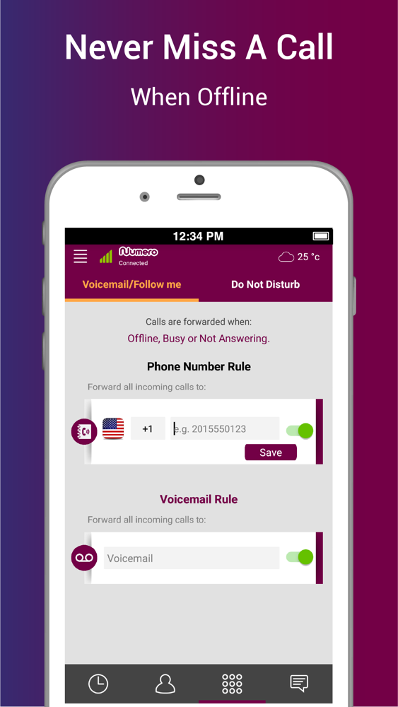 Numero: Virtual Phone Number App for iPhone - Free Download Numero