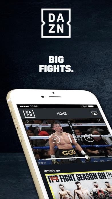 DAZN: Live Boxing, MMA & MLB app image