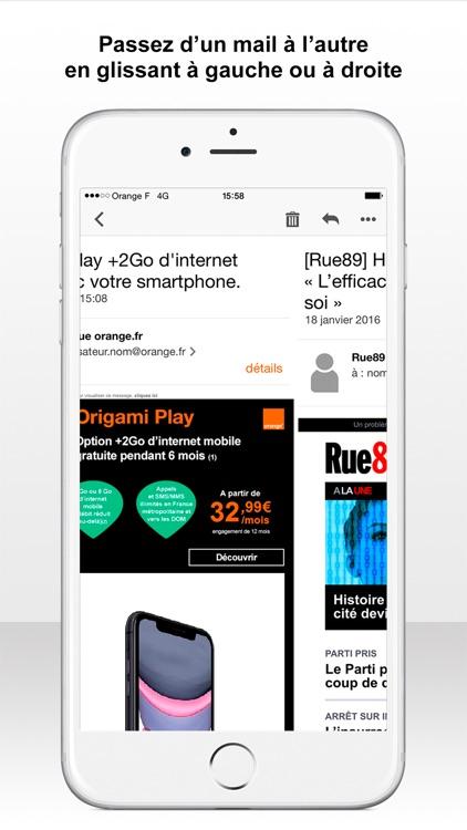 Mail Orange screenshot-3