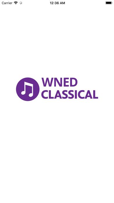 WNED Classical 94.5 screenshot one