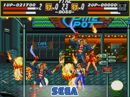 Streets of Rage Classic screenshot #2