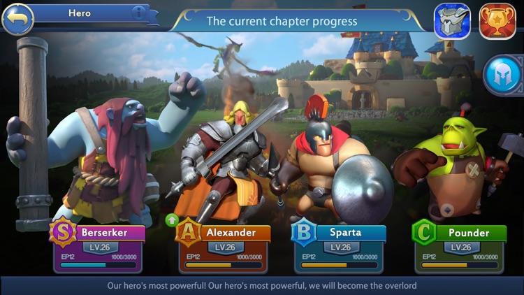 Sky Kingdoms: Dragon War screenshot-3