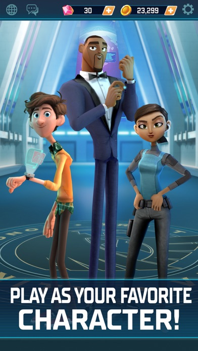 Spies in Disguise screenshot 1