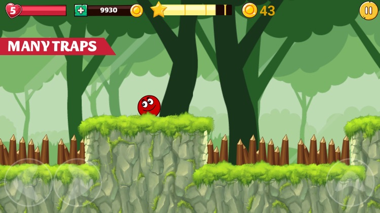 Red Ball Return screenshot-0