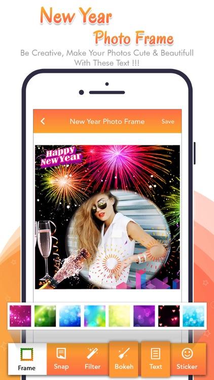Happy New Year - Photo Frame screenshot-5