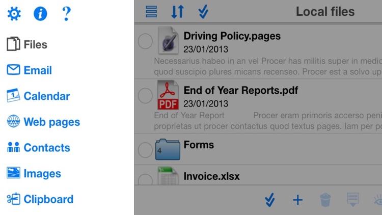 WritePDF for iPhone screenshot-4