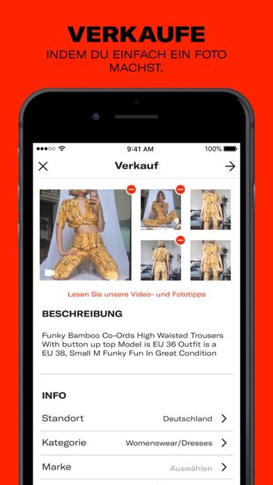 Screenshot for Depop - Streetwear und Vintage in Austria App Store