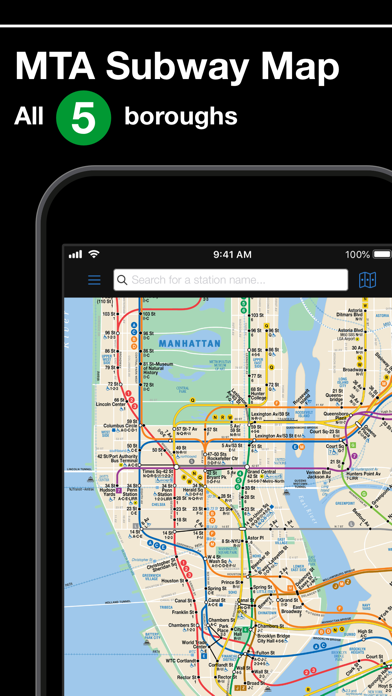 Manhattan Mta Mini Subway Map And Address Finder.New York Subway Mta Map By Mapway Limited Ios United Kingdom