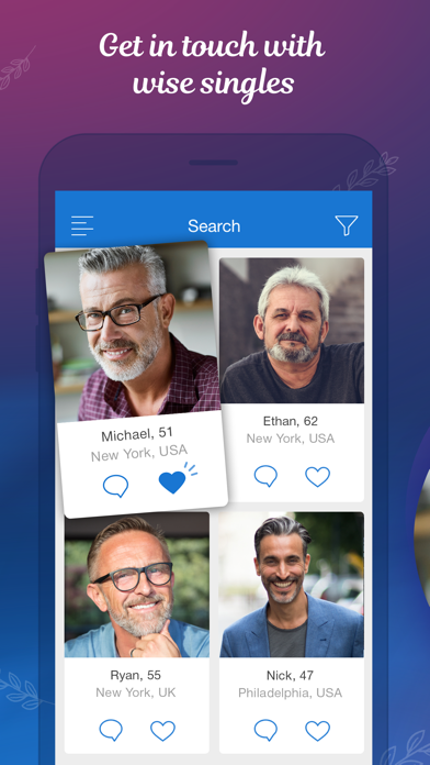 Mature Dating Network app image