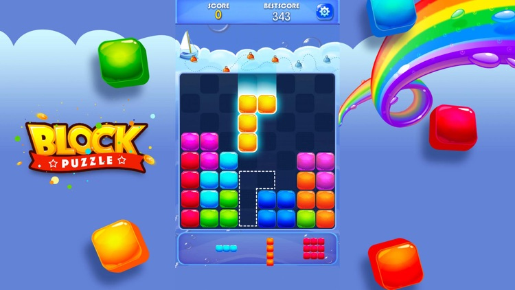 Candy Block Puzzle Blitz screenshot-5
