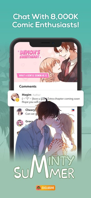 WebComics - Daily Manga on the App Store