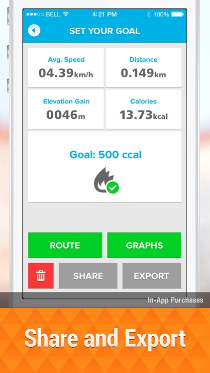 Bicycle ride tracker: bike map screenshot-4