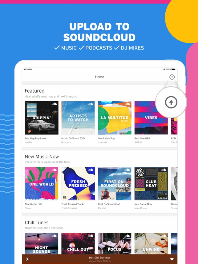 ‎SoundCloud - Music & Audio Screenshot