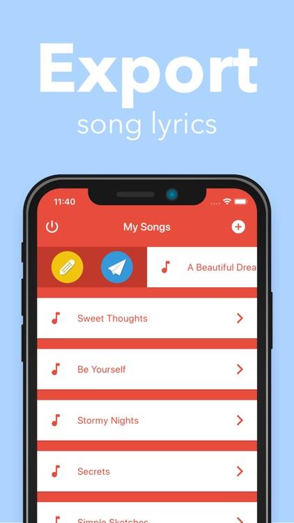 Lyrical screenshot-4