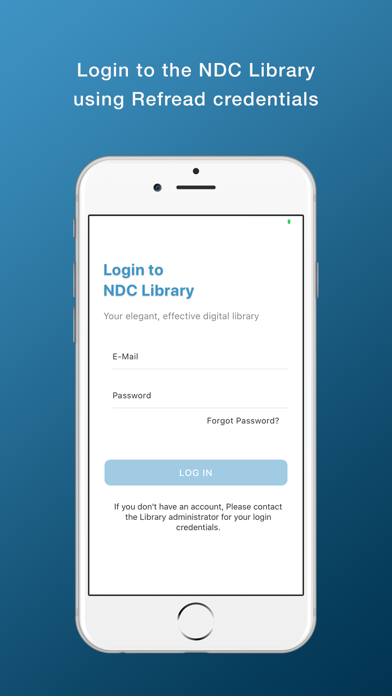 NDC Library screenshot 1