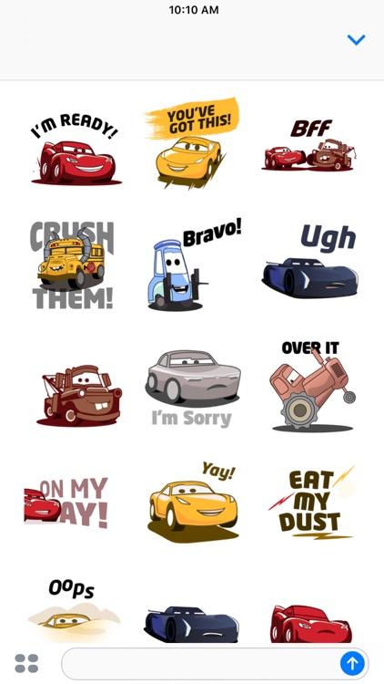 Pixar Stickers: Cars 3 screenshot-3