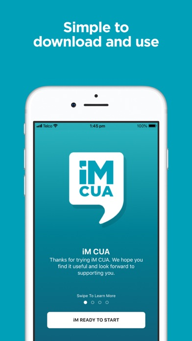 Download iM CUA - banking chat app for Pc