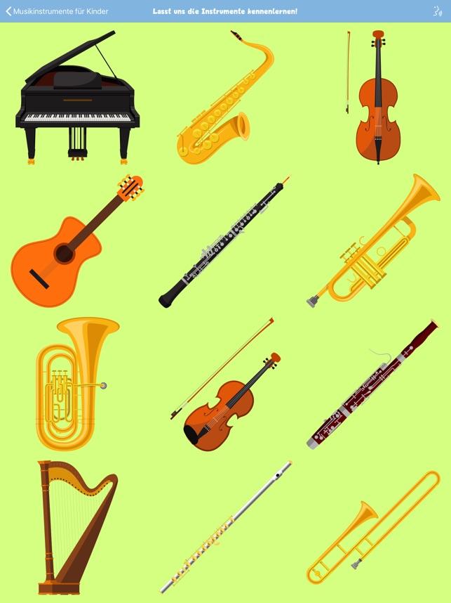 Die Welt der Musik spielerisch entdecken: Die Musikinstrumente
