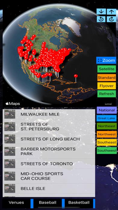 Sport Stadiums Pro - 3D Cities screenshot 1