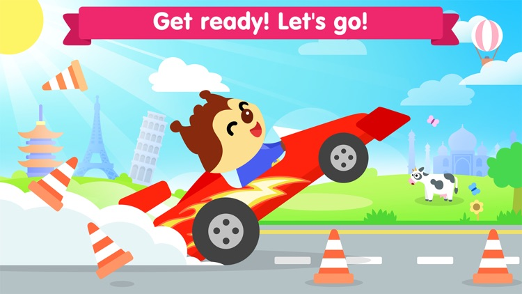 Car game for kids and toddler screenshot-4