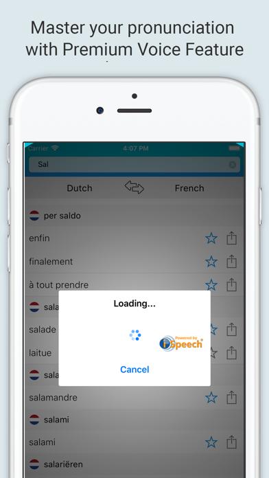 French Dutch Dictionary + screenshot 4