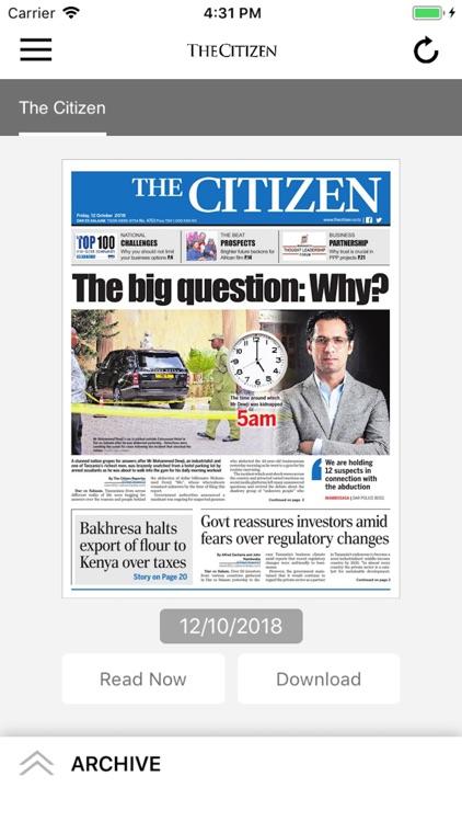 The Citizen Epaper App