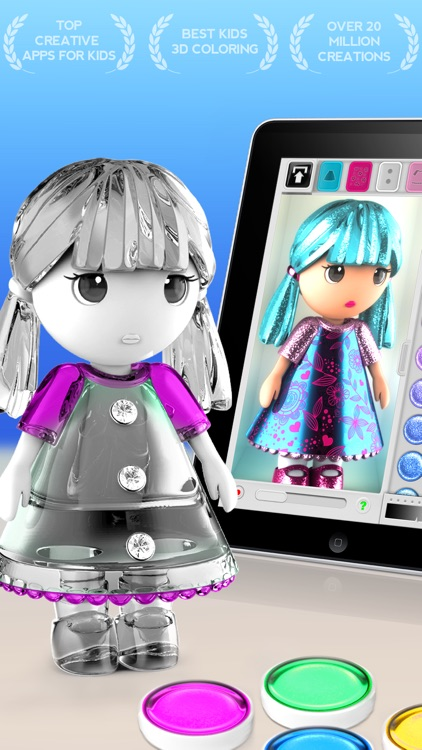 ColorMinis Kids-Color by Shape screenshot-0