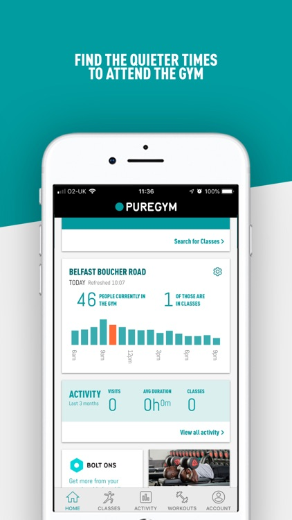 PureGym screenshot-3