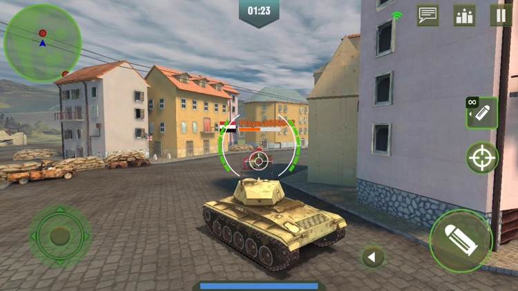 War Machines: 3D Tank Game screenshot-7