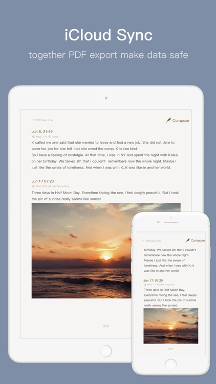 Once - Journal/Diary/Note App screenshot-6