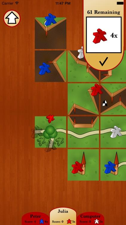 Castles board game