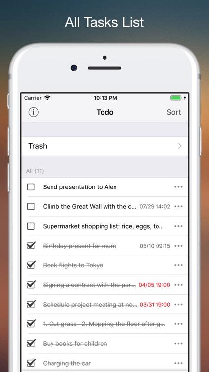 Todom - To do Checklist Pro screenshot-4