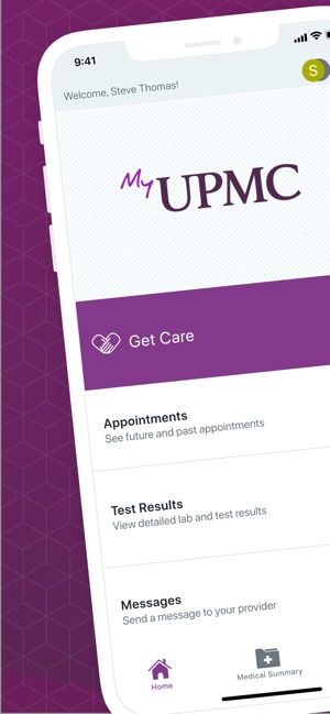 MyUPMC on the App Store